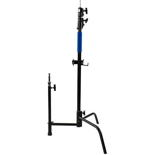 Savage C-Stand with Grip Arm and Turtle Base Kit (Chrome/Black 9.5') (ACE63310)