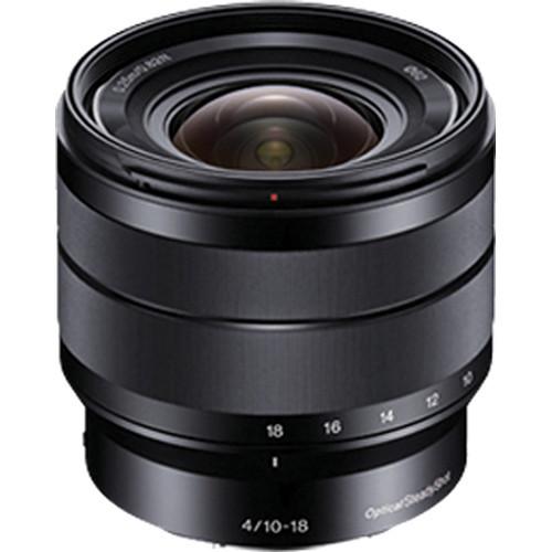 Sony E 10-18mm f/4 OSS Wide-Angle Zoom Lens