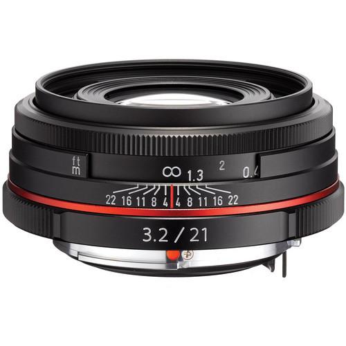 HD Pentax DA 21mm f/3.2 AL Limited Lens (Black)