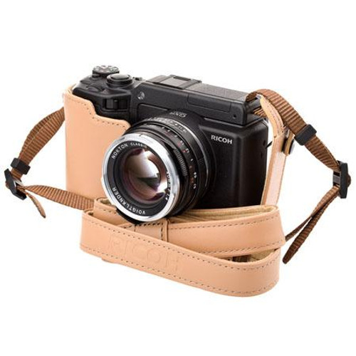 Ricoh Soft Case F/ GXR A12 Camera (Base Only, Beige)
