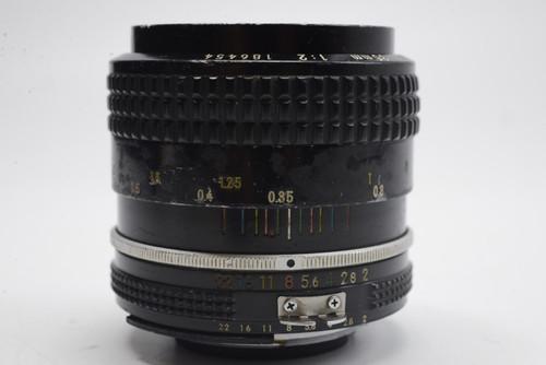 Pre-Owned - Nikon  Nikkor 35Mm F2.0 AI Manual focus