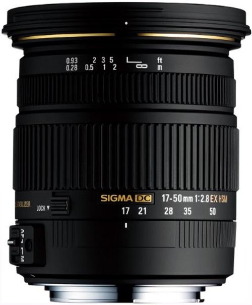 17-50mm f/2.8 EX DC HSM Zoom Lens for Pentax
