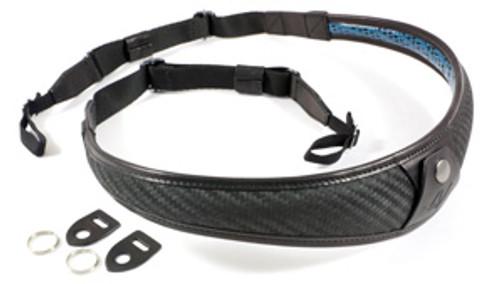 4V Design Large Neck strap ALA TOP-Univ fit kit Carbon/Black