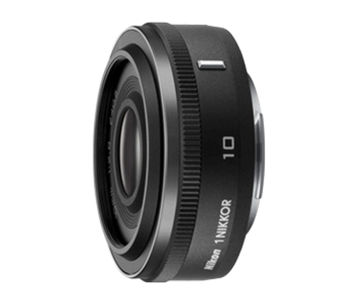 Nikon 1 Nikkor 10mm F/2.8 CX Format Lens (Black)