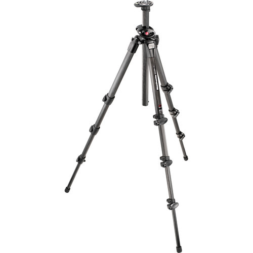 055CXPRO4-4-Section Carbon Fiber Tripod Legs