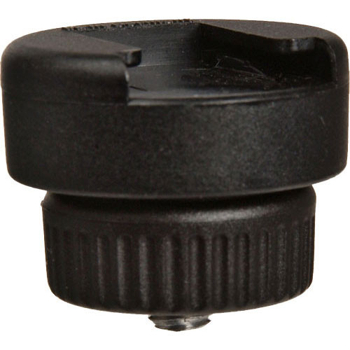 "Manfrotto 143S Flash Shoe, 1/4"" Mal E Attach"