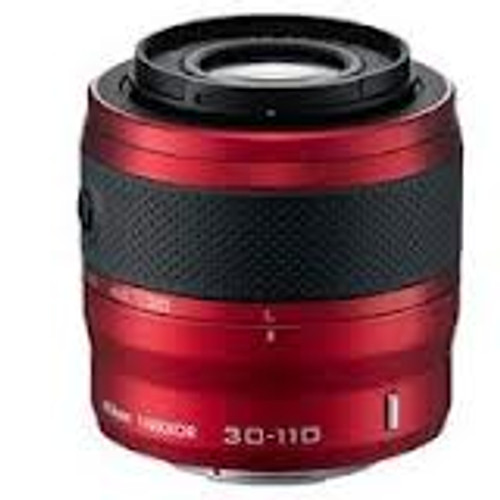 1 Nikkor VR 30-110Mm F/3.8-5.6 CX Lens (Red)