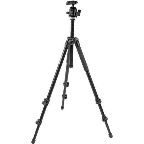 294 Alum 3 Sec Tripod W/ 3-Way QR Head