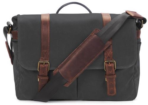 ONA Brixton Camera Laptop Messenger Bag (Black)