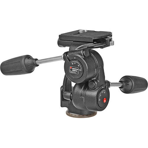 808RC4-3-Way Pan/Tilt Head With RC-4 Quick Release
