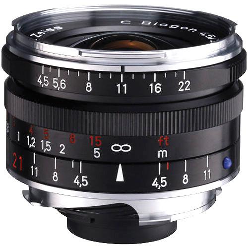 21Mm F/4.5 C Biogon T* ZM Manual Black F/Leica