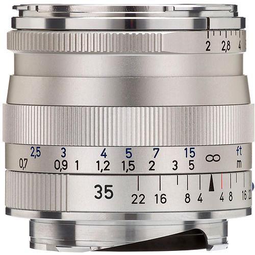 35Mm F/2 Silver  Biogon T* ZM F/Zeiss & Leica