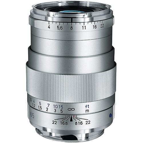85Mm F/4 Tele-Tessar T* ZM Manual Focus- Silver