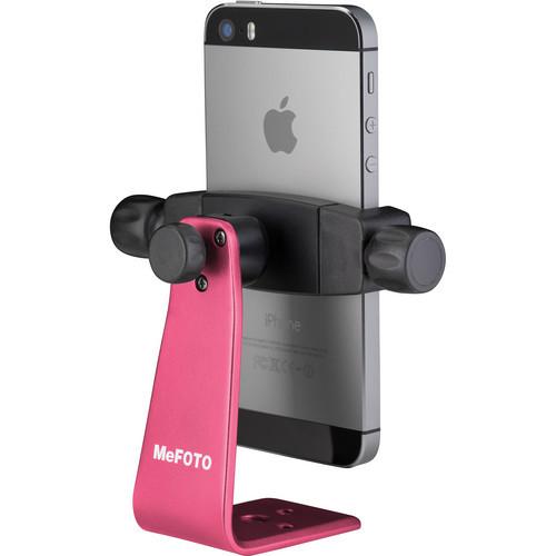 Mefoto MPH100H Mobile Phone Holder-HotPink