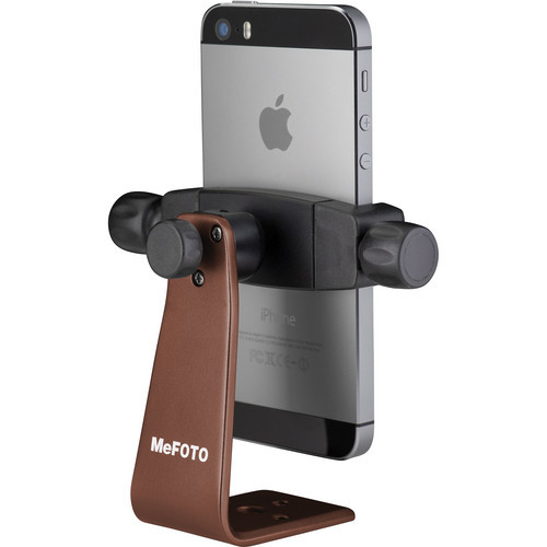 Mefoto MPH100E Mobile Phone Holder-Chocolate