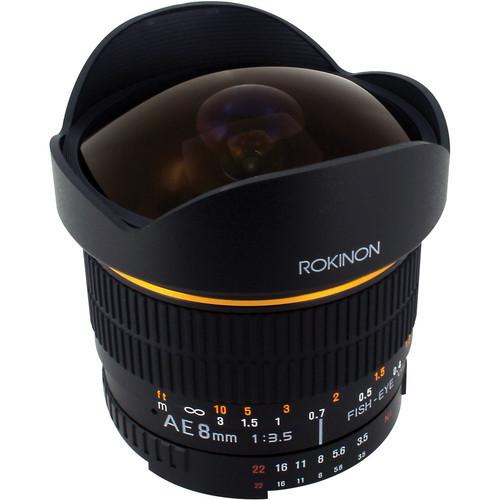 8Mm Ultra Wide Angle F/3.5 Fisheye Lens For Nikon