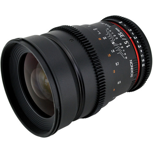 Rokinon 35Mm T1.5 Cine Lens For Nikon F