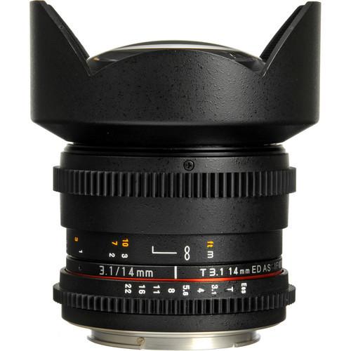 Rokinon 14Mm T3.1 Cine Lens For Canon EF-Mount