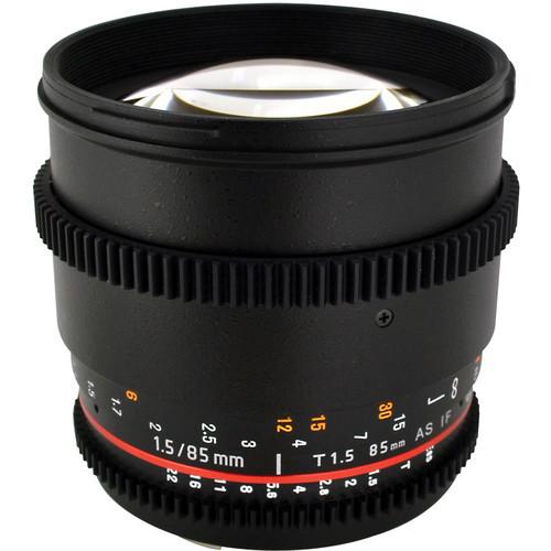 Rokinon 85mm T1.5 Cine  for Sony/minolta a mount