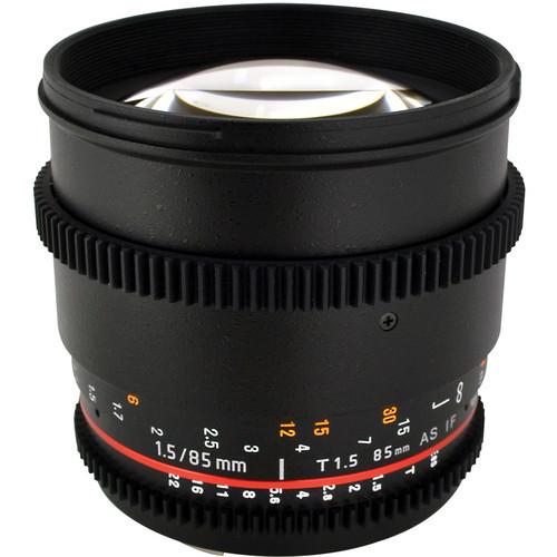 85Mm T1.5 Cine Lens For Sony E