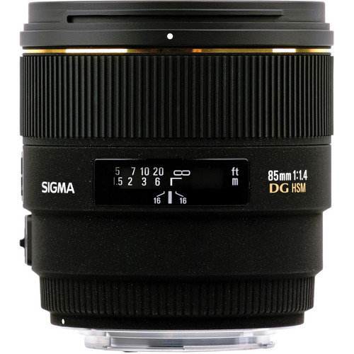 85mm F1.4 EX DG HSM for Canon