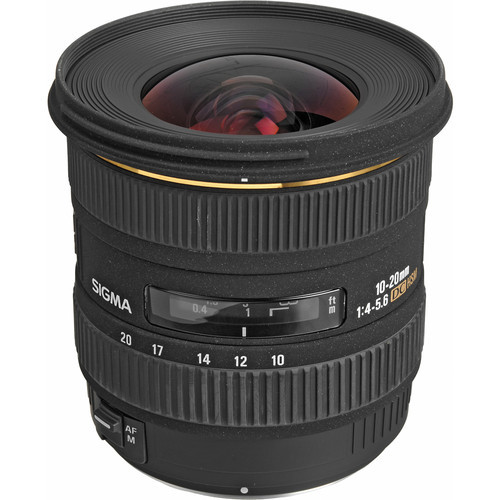 10-20mm F4-5.6 DC HSM Wide-Angle For Canon