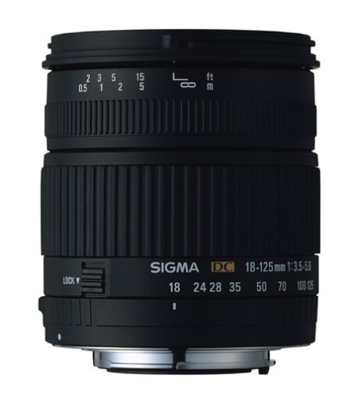 Sigma 18-125Mm F/3.5-5.6 for Minolta / Sony A Mounts