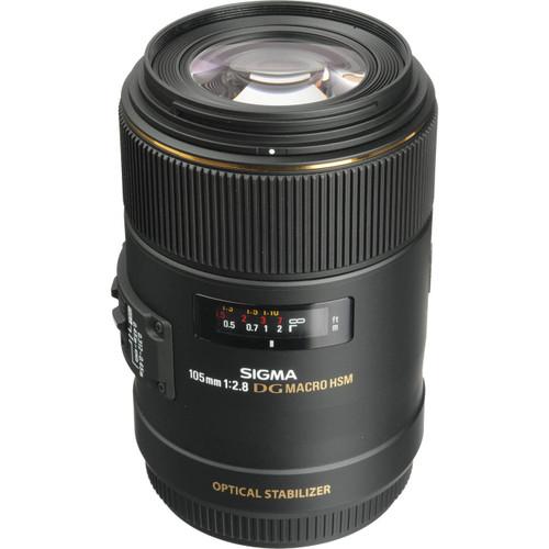 Sigma 105Mm 2.8 Dg Macro Canon