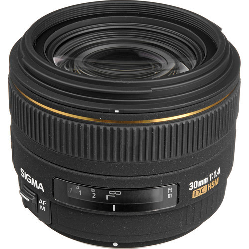 Sigma 30Mm F1.4  For Nikon DC HSM