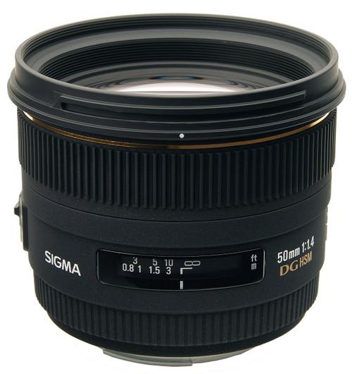 Sigma 50mm F1.4 EX DG HSM For Olympus
