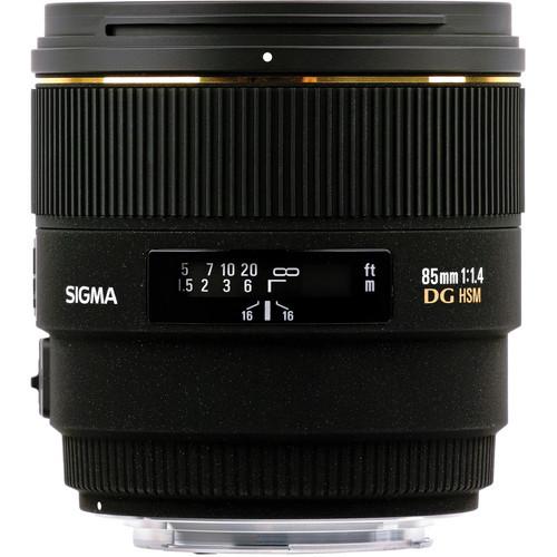 85mm F1.4 EX DG HSM for Sigma