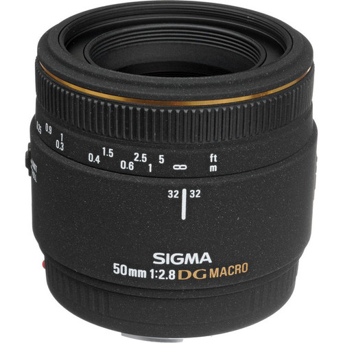 Sigma 50Mm F2.8 AF DG Macro for Canon