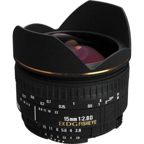 15Mm F2.8 Fisheye For Nikon