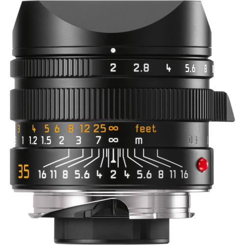 Leica APO-Summicron-M 35mm f/2 ASPH. Lens (Black)