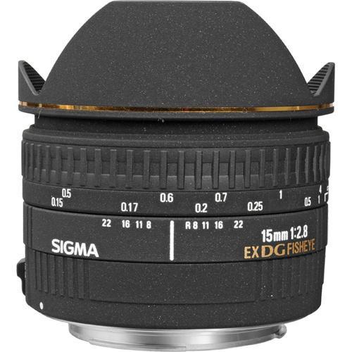 Sigma 15mm f/2.8 EX DG Diagonal Fisheye Lens for Sony/Minolta
