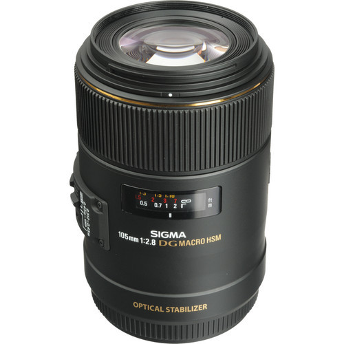 Sigma 105mm f/2.8 EX DG OS HSM Macro Lens For Canon (ACE36582)