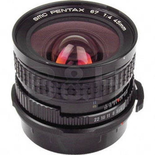 Pre-Owned  SMC Pentax 67 45mm F/4 Late Model MF Lens For 6x7 67 II