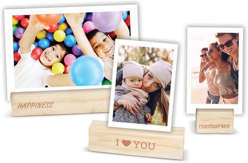 Fujifilm Instax Wooden Photo Holders - 3PK