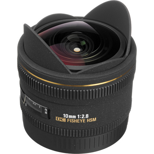 10MM F2.8 FISHEYE EX DC For Canon AF HSM