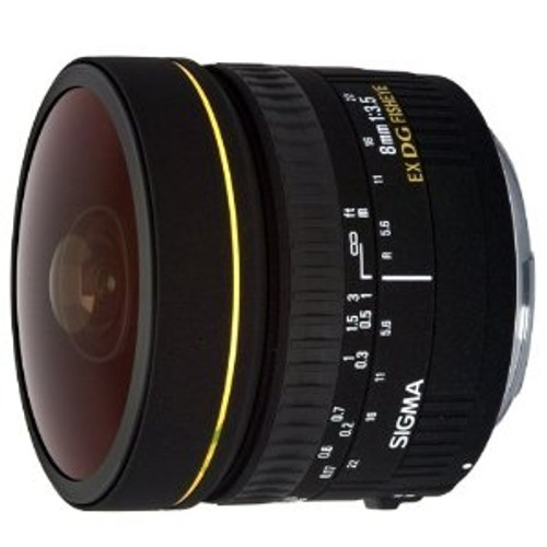 8mm F3.5 EX DG Circular Fisheye for Canon