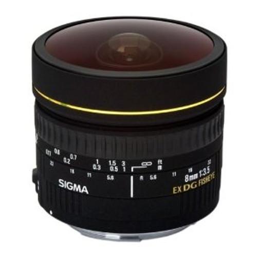 8mm F3.5 EX DG Circular Fisheye for Nikon