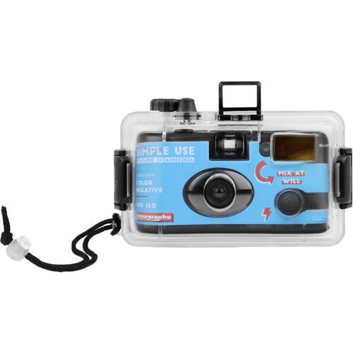 Lomography Color Negative 400 Simple Use Film Camera + Underwater Case (27 Exposures)
