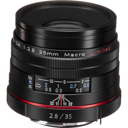 HD Pentax DA 35mm f/2.8 Macro Limited Lens (Black)