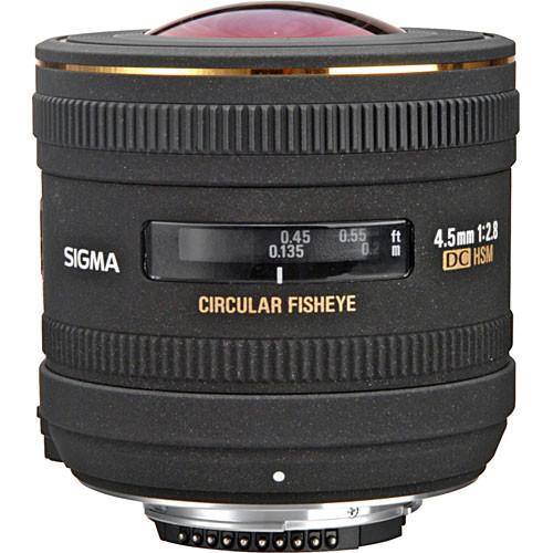 4.5mm f2.8 EX DC HSM  Circ. Fisheye For Nikon