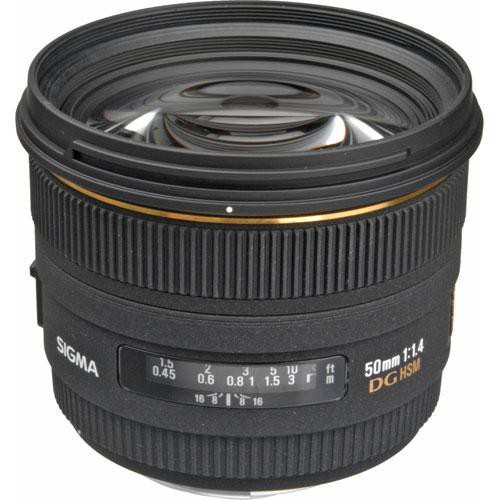 Sigma 50mm F1.4 EX DG HSM For Sigma
