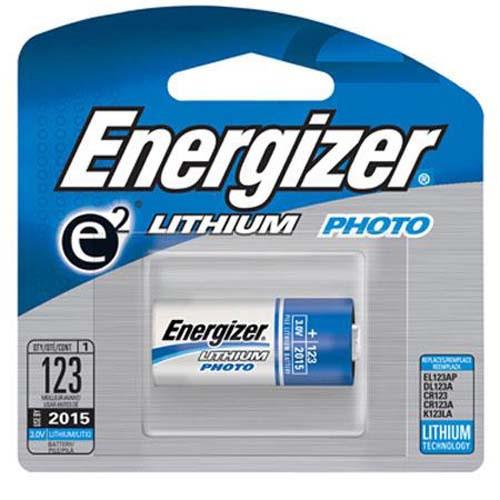 CR123 X 1 Photo Lithium Battery  Varta. Energizer, panasonic