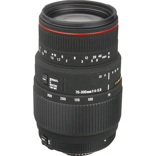 Sigma 70-300Mm F/4-5.6 APO DG Macro AF Lens F/ Nikon