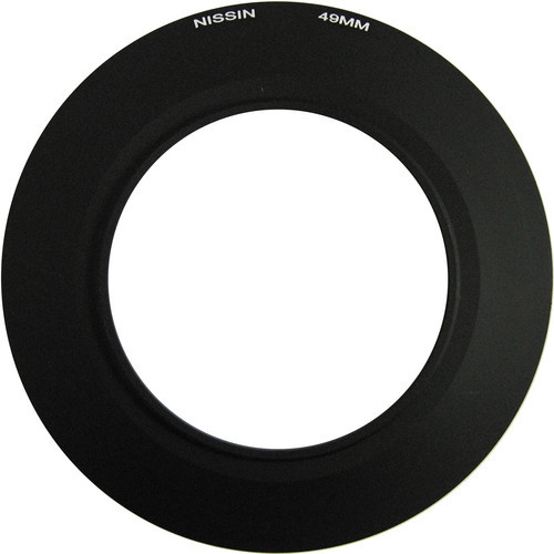 Nissin 49mm Adapter Ring for MF18 Macro Flash