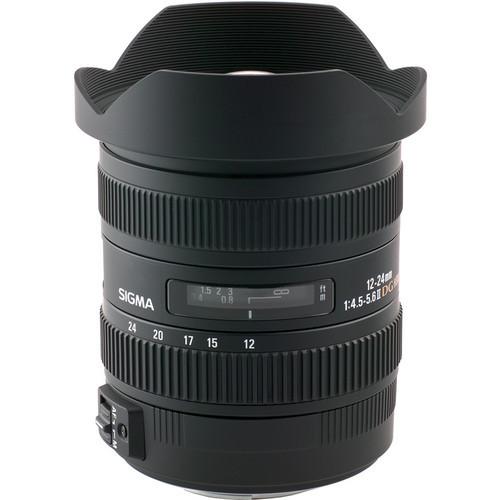 Sigma 12-24mm f/4.5-5.6 AF II DG HSM Lens For Nikon