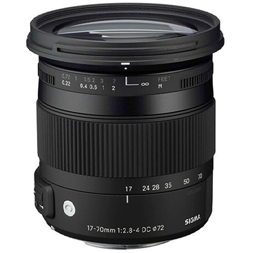 17-70mm F/2.8-4 DC Macro C OS HSM Lens For Nikon